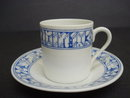 Lovely DEMITASSE CUP & SAUCER Crossed Swords Saxonia