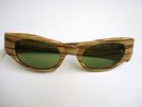 VINTAGE CATS EYE SUNGLASSES UNUSUAL FRAMES