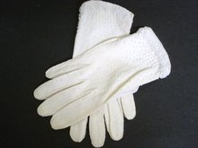 Beaded Ladies Gloves - M