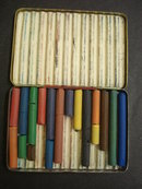 REEVES GREYHOUND PASTELS TIN BOX - CRAYONS