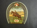Charming  NEEDLE BOOK Young Girl And Horse