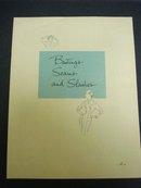 BOOK BASTINGS SEAMS and SLASHES SINGER #4