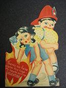 SWEET VALENTINE CARD SWEET VINTAGE VALENTINE CARD