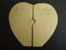 FIGURAL VALENTINE CARD ADORABLE VINTAGE VALENTINE CARD