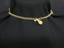 Elegant Gold Tone Necklace Choker Style