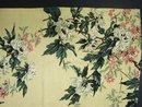 Vintage Barkcloth Panel