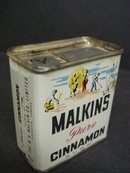 SPICE TIN by MALKIN'S CINNAMON
