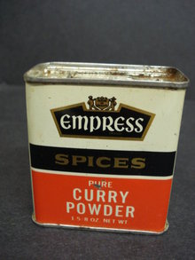 SPICE TIN by EMPRESS CURRY POWDER