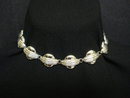 ART DECO NECKLACE - SILVER TONE