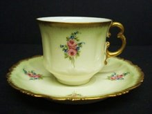 Fascinating  Teacup Set  Fine China Cup and Saucer