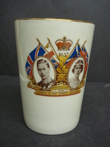 Royal Coronation Beaker 1937