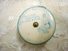 Rare Sewing Tape Measurer - Retractable
