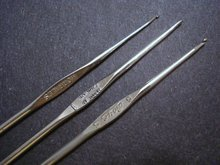 CROCHET HOOKS Group of 3