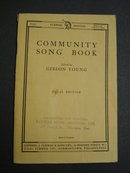 COMMUNITY SONG BOOK Copyright 1915