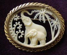 FIGURAL FRENCH BROACH