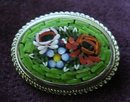 Colorful Mosaic Broach italy