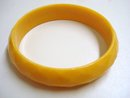 QUILTED BUTTERSCOTCH BANGLE