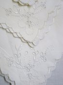 MADEIRA EMBROIDERED NAPKINS Set
