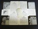 Handkerchief Edgings Book