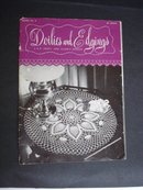 DOILIES and EDGINGS Vintage Book