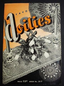 Favorite Doilies Crochet Lace Book
