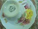 ROYAL VALE TEACUP SET 3 ROSES