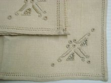 Linen Napkins Set of 4 Art Deco