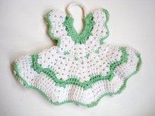 Figural Crocheted Potholder