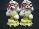 Wonderful Figural Salt & Pepper Shakers