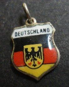 Vintage Silver Charm DEUTSCHLAND