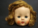 Pretty Antique Doll's Head - Rosebud