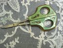 Antique Scissors  Art Nouveau Style