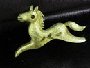Pretty Vintage Brooch Tiny Horse