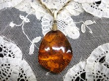 Classic Vintage Amber Pendant Genuine Amber