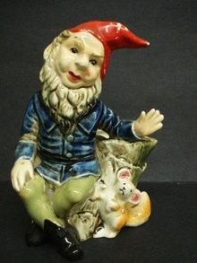 Figural Planter GNOME