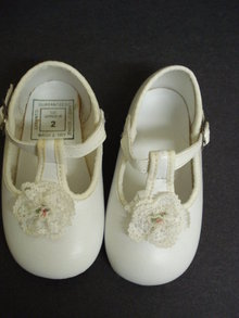 Vintage Baby Shoes Perfect for a Doll