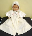 Childs Coat and Bonnet Perfect for a Doll