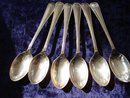 Sterling Egg Spoons English Hallmarks