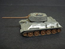 No 8 T34/85 USSR Tomy DieCast Model Toy Tank