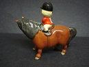 Beswick Pony & Rider Signed by John Beswick