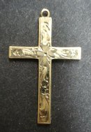 Preciousl Vintage Gold CROSS