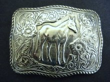 Rare Western Style Belt Buckle