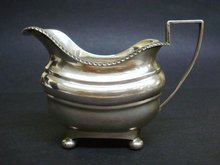 Sterling Cream Serving Jug