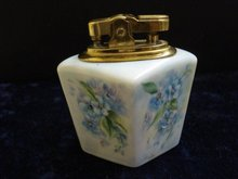 Porcelain Lighter Hand Painted