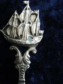 Detailed Sterling Souvenir Spoon
