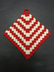 Vintage Potholder Pot Holder