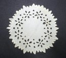 Antique Eyelt Doily