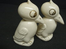 Old Salt and Pepper Shakers Big Birds