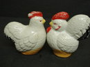 Old Salt and Pepper Shakers Hen & Rooster