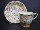 Chintz Teacup Set by Windsor China